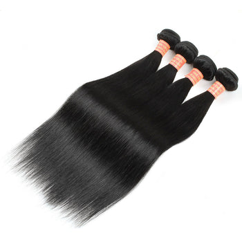 Good Cheap Malaysian Virgin Straight Hair 4 Bundles - ExcellentVirginHair