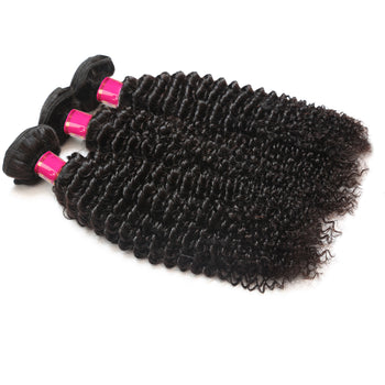 Sweetie Brazilian Kinky Curly Virgin Hair 3 Bundles Brazilian Curly Human Hair - ExcellentVirginHair
