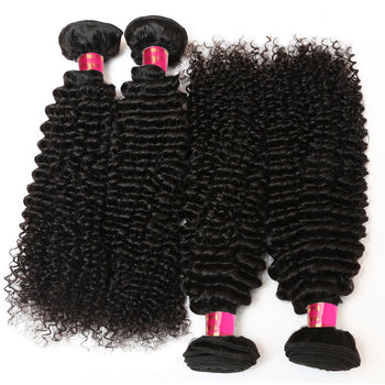 Sweetie Brazilian Kinky Curly Virgin Hair Top Unprocessed Human Hair Weave - ExcellentVirginHair