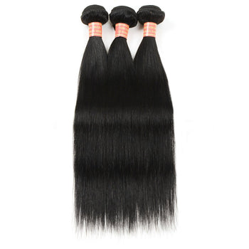 Cheap Malaysian Straight Human Hair Weave 3 Bundles - ExcellentVirginHair