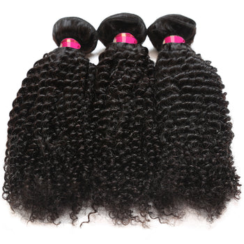 Sweetie Malaysian Curly Hair Kinky Curly Hair 3 Bundles Unprocessed Human Hair - ExcellentVirginHair