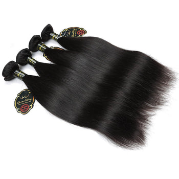 Funmi Indian Straight Virgin Human Hair 4 Bundles Wholesale Price - ExcellentVirginHair