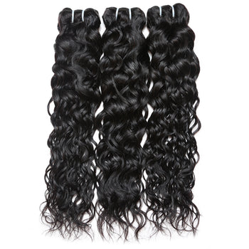 Ama Malaysian 3 Bundles Virgin Water Wave Hair - ExcellentVirginHair