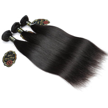 Top Sale 3 Bundles Peruvian Virgin Human Hair Unprocessed Funmi Straight Hair