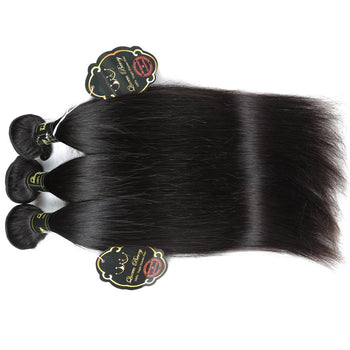 Funmi Indian Virgin Straight Hair 3 Bundles Best Straight Virgin Hair - ExcellentVirginHair