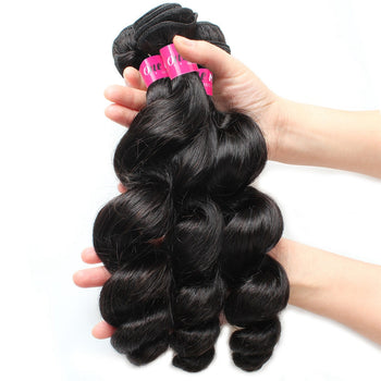 Malaysian Loose Wave Virgin Hair 3 Bundle Deals - ExcellentVirginHair
