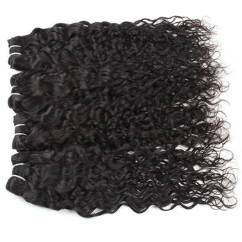 Indian Virgin Hair Water Wave 4 Bundles - ExcellentVirginHair