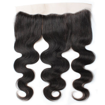 Brazilian Body Wave Virgin Hair 13x4 Lace Frontal Closure 1pcs/lot - ExcellentVirginHair