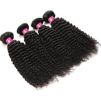 Peruvian Kinky Curly Hair Cheap Virgin Peruvian Hair 4 Pcs Lot - ExcellentVirginHair