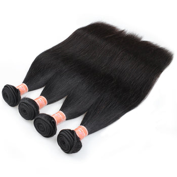 Ama Wholesale Brazilian Virgin Straight Human Hair Extensions 10 Bundles - ExcellentVirginHair
