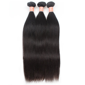 Ama Indian Virgin Straight Human Hair 3 Bundles - ExcellentVirginHair