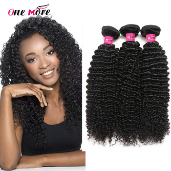 Peruvian Unprocessed Virgin Kinky Curly 3 Bundles Human Hair Wave - ExcellentVirginHair