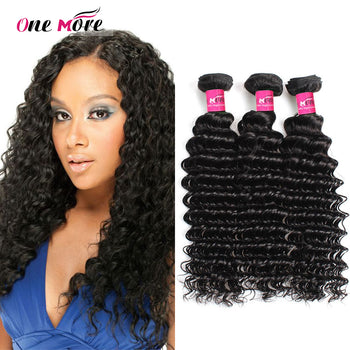 Peruvian Virgin Hair Deep Wave 3 Pcs Unprocessed Human Hair - ExcellentVirginHair