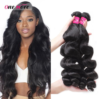 Top Sale 3 Bundles Peruvian Virgin Human Hair Loose Wave Human Hair