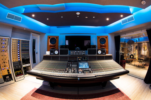 BANGYBANG RECORDS STUDIO SSL 9048K