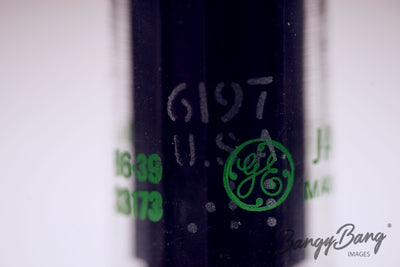 Factory Sealed 200 pc Box GE GENERAL ELECTRIC JAN 6197 / 6CL6 Premium Tube - BangyBang Tubes