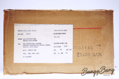 Factory Sealed 200 pc Box 3Q4 RCA Premium Tube - BangyBang Tubes