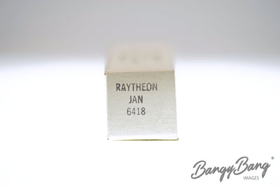 Factory Sealed 200 pc Box Raytheon JAN 6418 Premium Tube - BangyBang Tubes