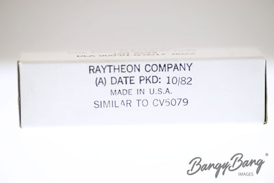 Factory Sealed 200 pc Box Raytheon JAN 5643/TD17/CV5079 Tetrode Subminiature Xenon Thyratron Valve - BangyBang Tubes