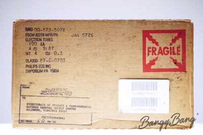Factory Sealed Box 100 pcs 5726 / 6AL5W / 6097 / CV4007 Philips Tube - BangyBang Tubes