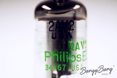 Lot 50 pcs 2AV2 Philips Premium Audio Tubes - BangyBang Tubes