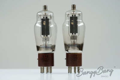 Matched Pair RCA JAN CRC 837 VT101 CV637 RK44 Tube Valve - BangyBang Tubes