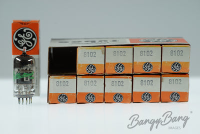 10 Vintage General Electric 8102 Premium Audio Tube  - BangyBang Tubes
