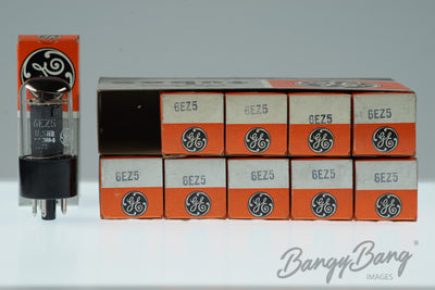 10 Vintage General Electric 12AY3A / 12BS3A Premium Audio Tube Valve in Box - BangyBang Tubes