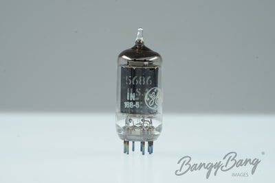 10 Vintage General Electric 5686 Premium Radio Tube in Box - BangyBang Tubes