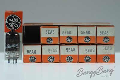10 Vintage General Electric 5EA8 Premium Audio Tube Valve in Box - BangyBang Tubes