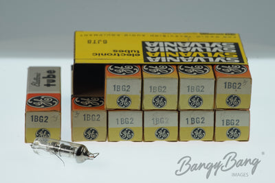 10 Vintage 1BG2 General Electric Great Britain Premium Radio Tube in Box - BangyBang Tubes