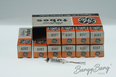 10 Vintage General Electric 6397 Premium Tube in Box - BangyBang Tubes