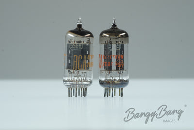 Platinum Matched Pair RCA 5965 / 12AT7 / ECC81 / 6201- BangyBang Tubes