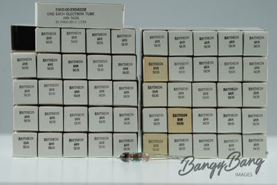 Lot 50 pc Box 5636 Raytheon EF730 CV3928 CK5636 Rectifier Premium Tube - BangyBang Tubes