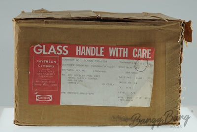 Factory Sealed Box of 200pcs Raytheon JAN 5755 / 12AX7 / CV755 Mullard Remake Diff Pin Out CK5755 Premium Audio Tube - BangyBang Tubes