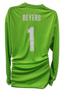 Authentic Game Worn Goalie Jersey - Beyers