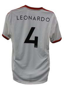 Authentic Game Worn Away Jersey - Leonardo