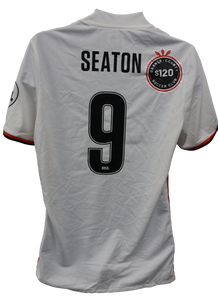Authentic Game Worn Away Jersey - Seaton