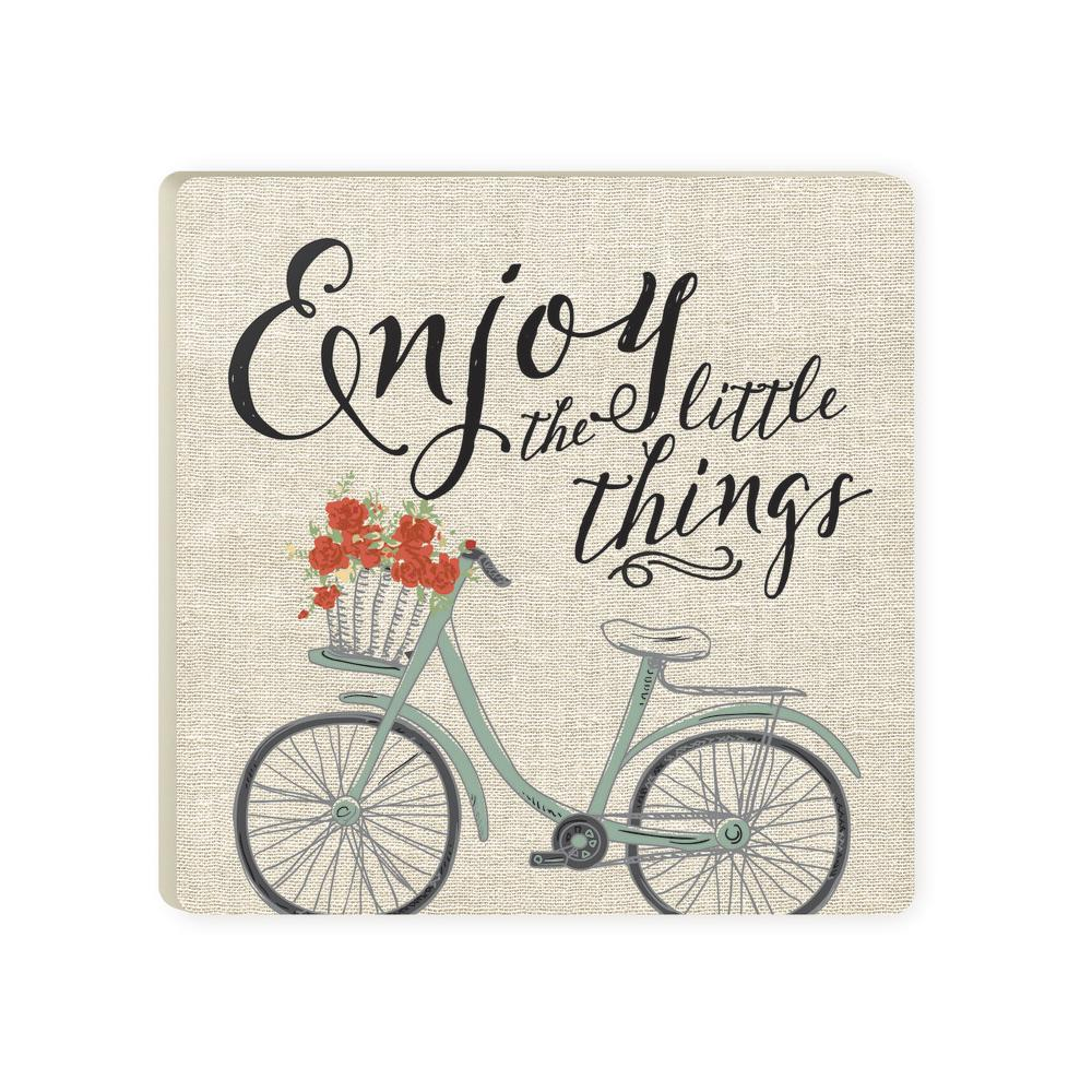 Enjoy the Little Things Coaster - HYGGE