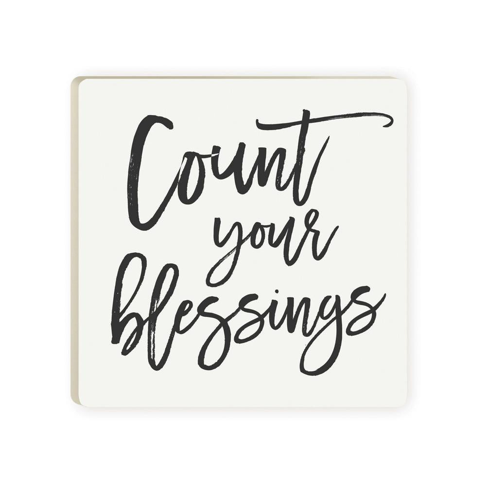Count Your Blessings Coaster - HYGGE