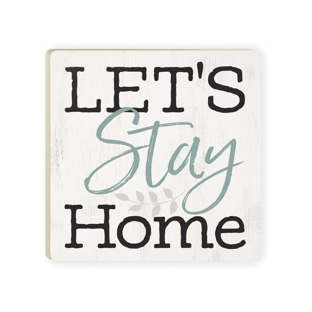 Let's Stay Home Coaster - HYGGE