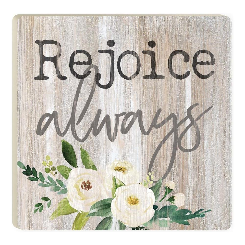 Rejoice Always Coaster - HYGGE