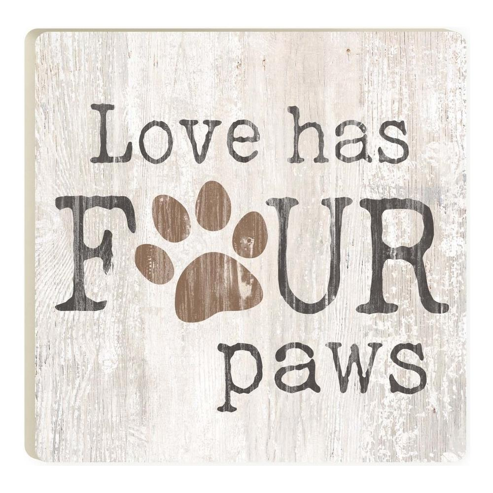 Love Has Four Paws Coaster - HYGGE