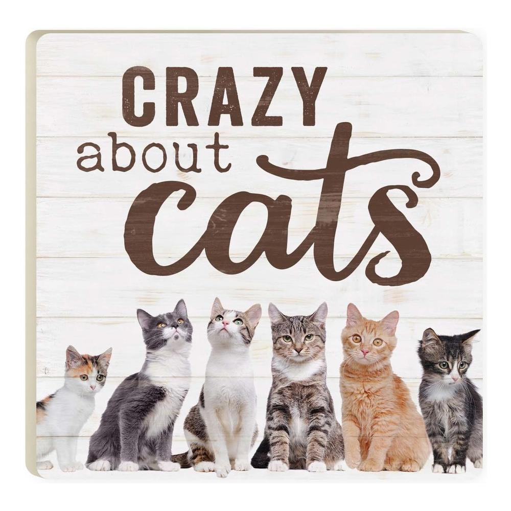 Crazy About Cats Coaster - HYGGE