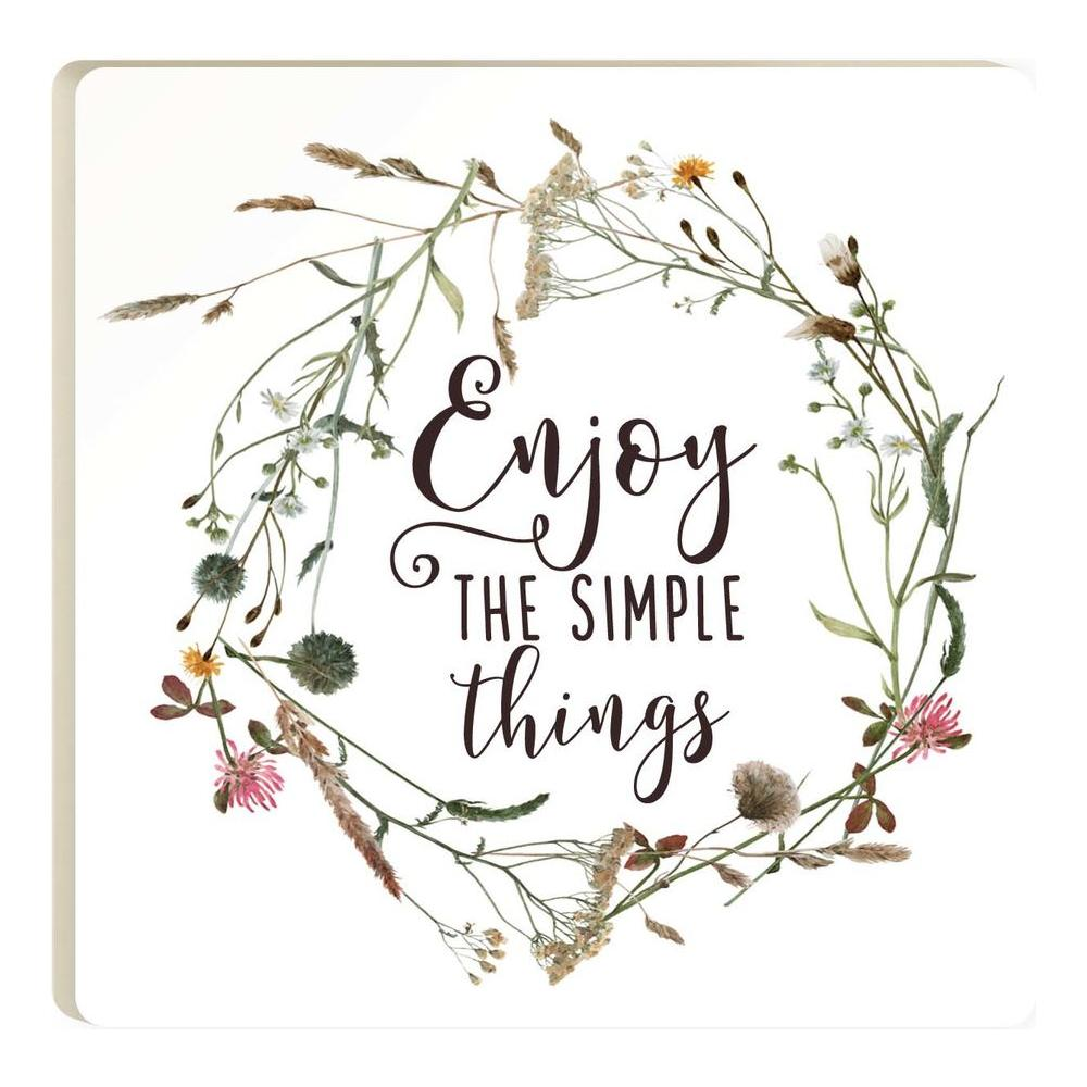 Enjoy The Simple Things Coaster - HYGGE