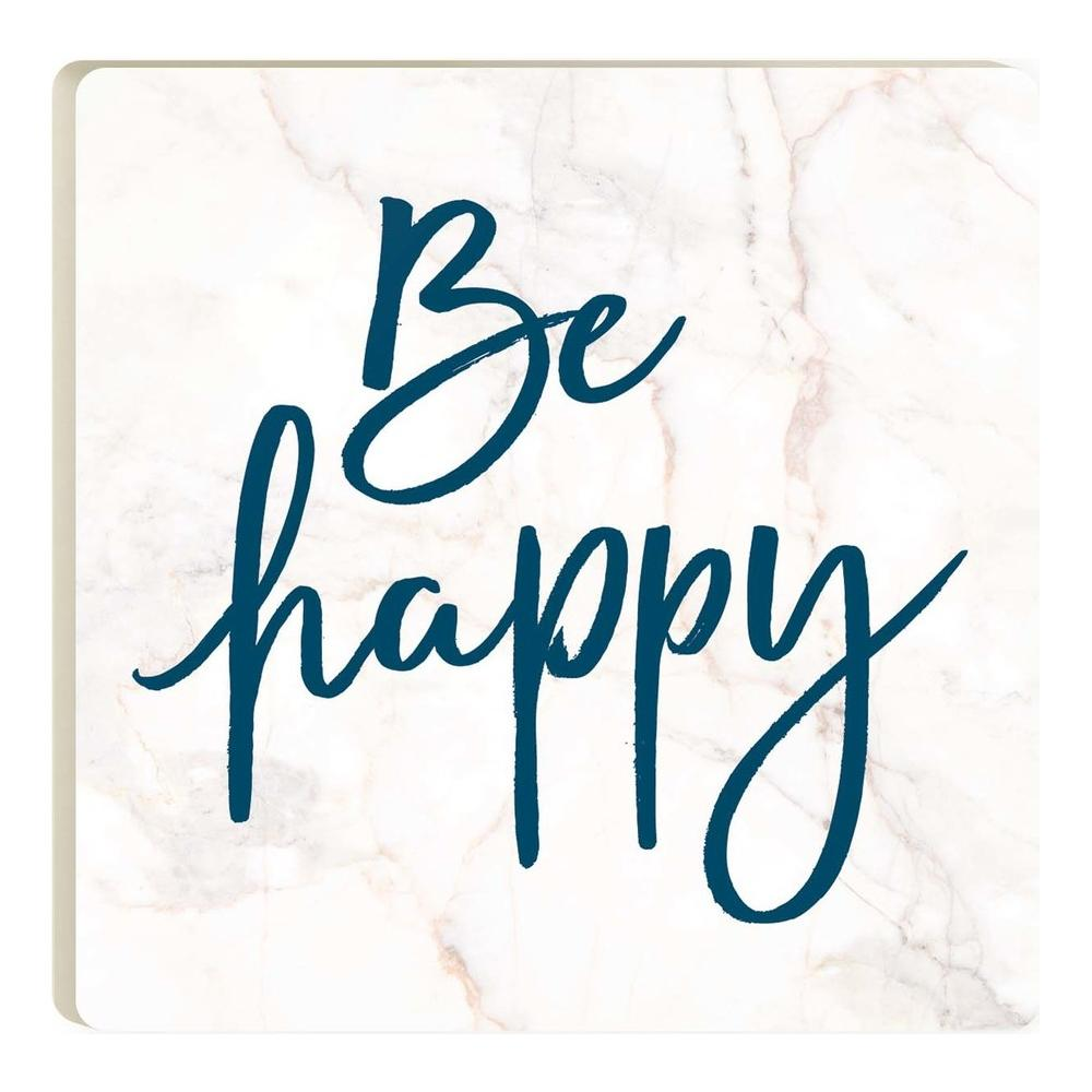 Be Happy Coaster - HYGGE