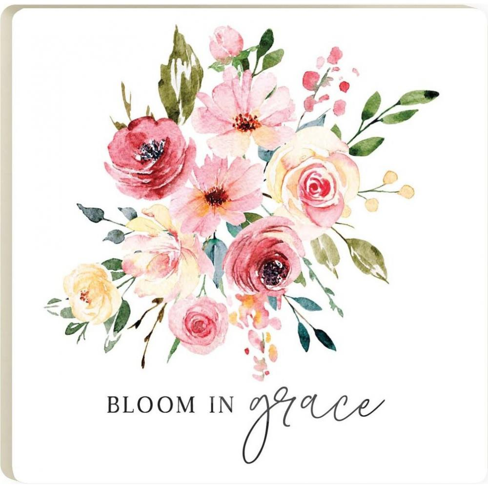 Bloom In Grace Coaster