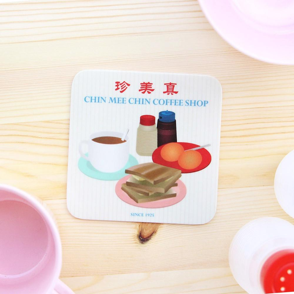 Makan Coaster - Chin Mee Chin Coffee Shop - HYGGE