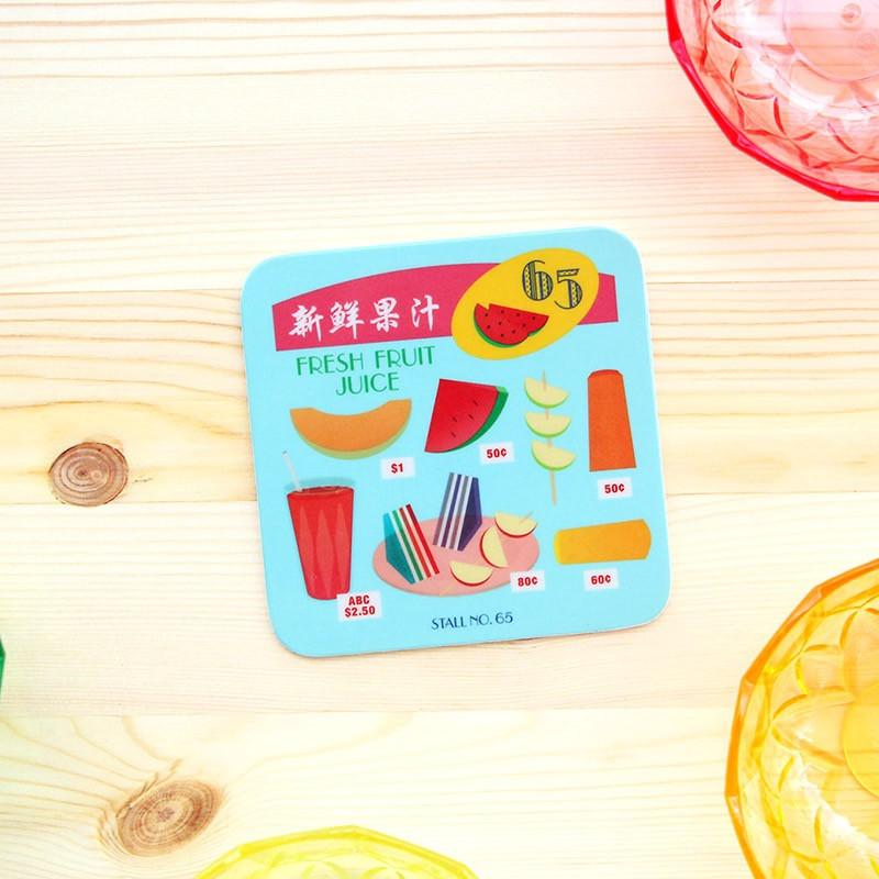 Makan Coaster - Fresh Fruit Juice - HYGGE