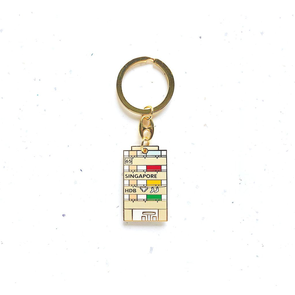 Key Chain - Singapore HDB - HYGGE